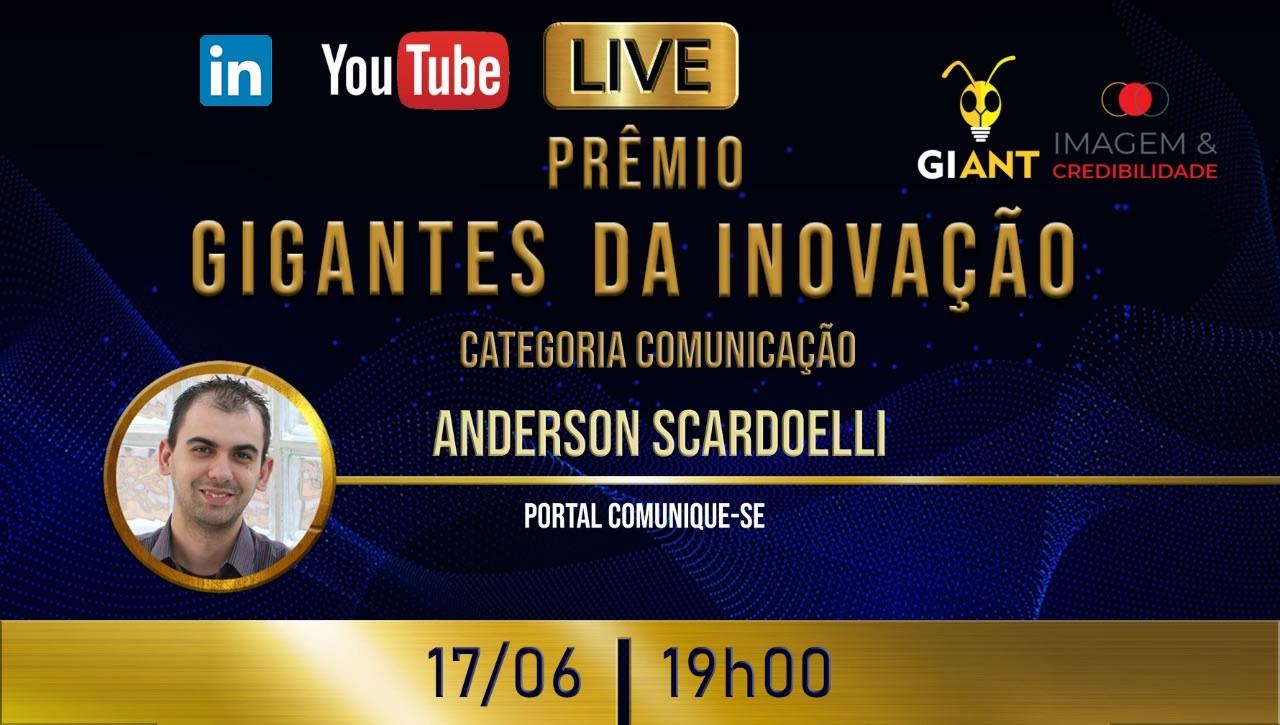 Live Gigantes da Inovação: Categoria Comunicação