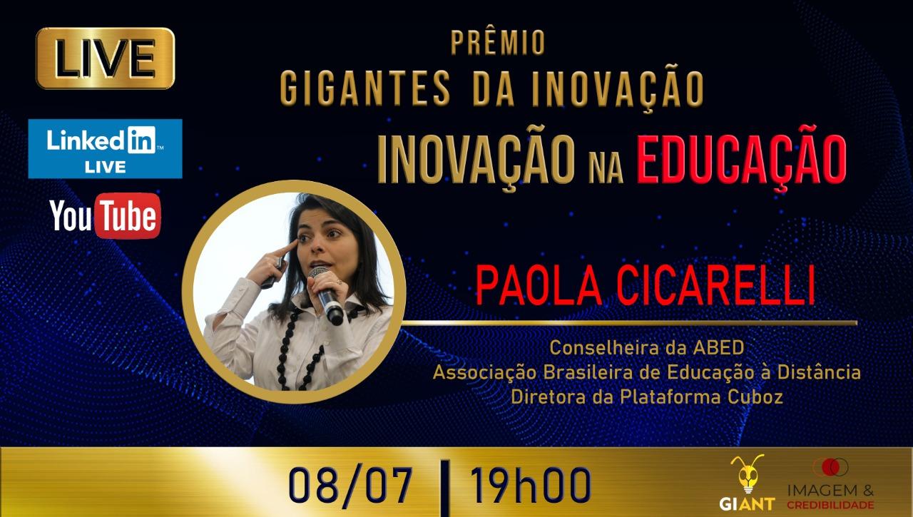 Live Gigantes da Informação: Inovação na Educação